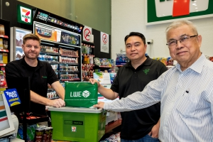 LWE is the first logistics partner for  Razer Parcel+ services in 7-Eleven stores
